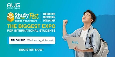 [AUG Melbourne] StudyFest 2021 - Education, Migration and Internship Expo tickets