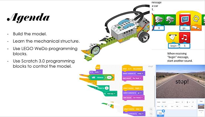 LEGO WeDo 2.0 Robotics Workshop - Racing Car image