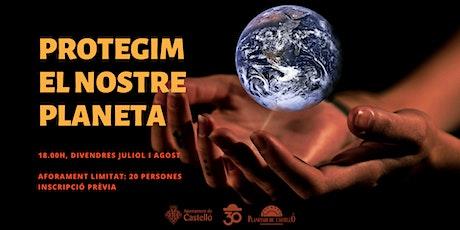 """Planetaller Infantil Planetari """"Protegim la Terra: Receptes canvi climàtic"""" entradas"""