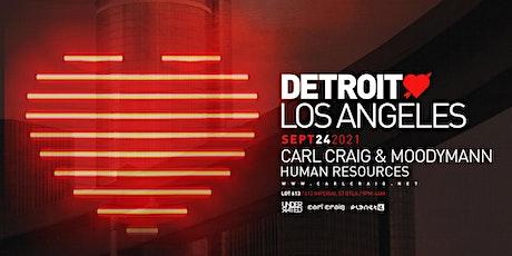 Detroit Love : Carl Craig + Moodymann tickets
