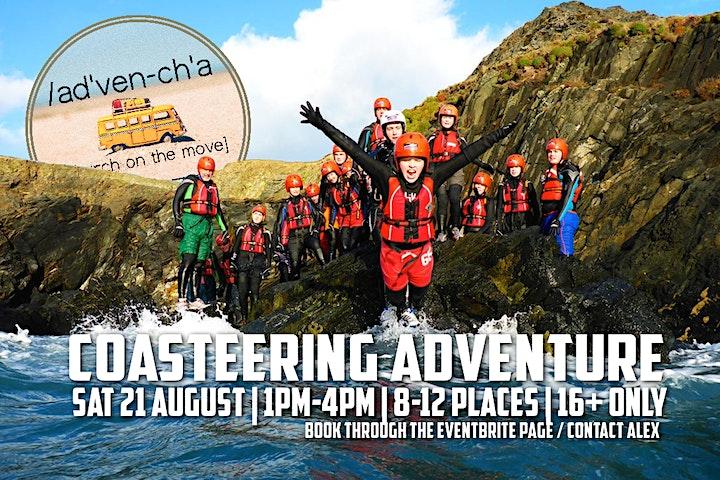 Adventure Church (Adults) Coasteering image