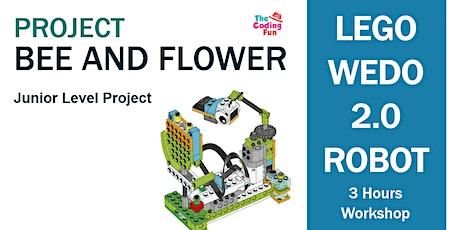LEGO WeDo 2.0 Robotics Workshop - Bee and Flower tickets
