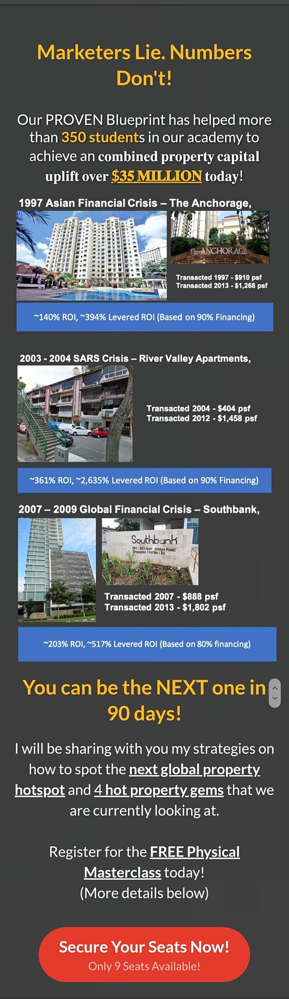 ***[FREE ONLINE Property Investing MASTERCLASS by Dr Patrick Liew!]* image