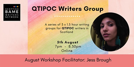 QTIPOC Writers Group with Jess Brough tickets