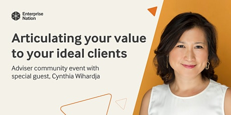 Adviser community event: Articulating your value to your ideal clients tickets