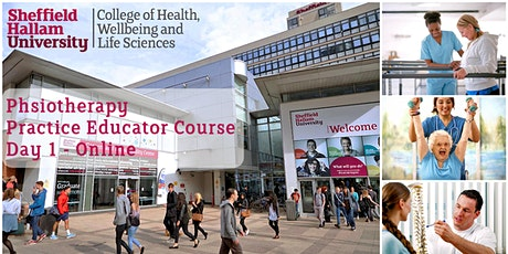 PHYSIOTHERAPY PRACTICE EDUCATOR COURSE (ONLINE) - DAY 1 tickets