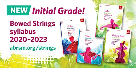ABRSM Introduction to Initial Grade for Bowed Strings tickets