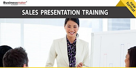 Live Webinar: Sales Presentation & Pitching Techniques tickets