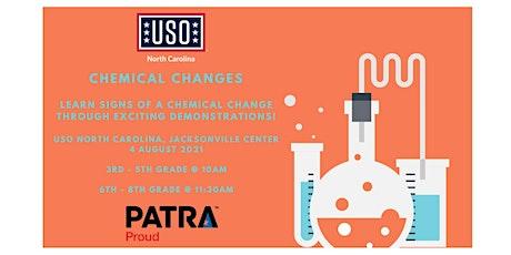 (Jacksonville) USO North Carolina  STEM - Chemical Changes tickets