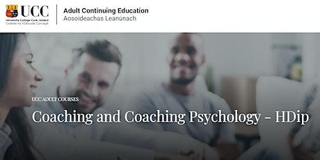 Higher Diploma in Coaching / Coaching Psychology.   Info night Tickets
