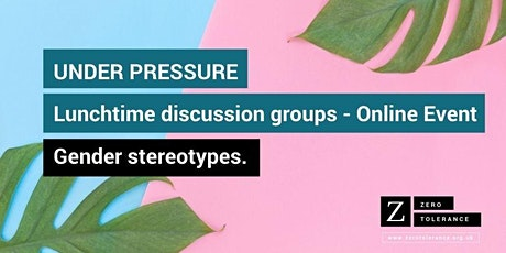 Under Pressure Lunchtime Sessions for Youth Workers: Online Event tickets