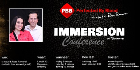 Perfected By Blood - IMMERSION the Netherlands tickets