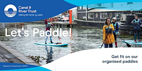 Let's Paddle Board at Stoke Bruerne! tickets