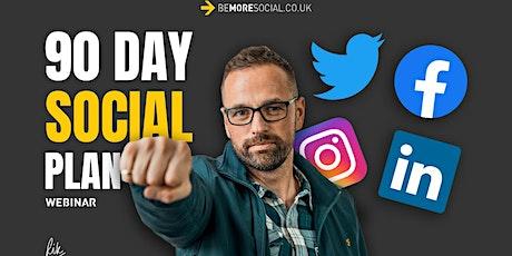 SocialHub - 90 day Social Media Planning tickets