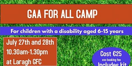 GAA For All Camp tickets