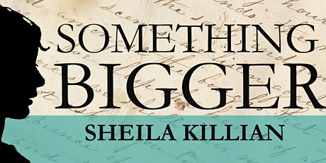 Something Bigger, virtual book launch tickets