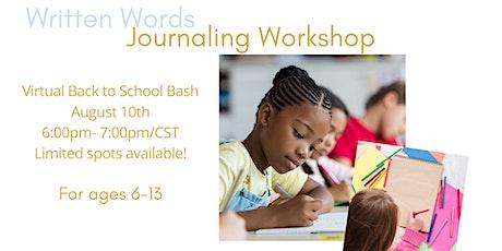 Written Words: Back To School Bash tickets