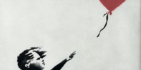 Lezing: Banksy door John Lommen tickets