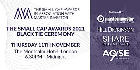 Small Cap Awards 2021 tickets
