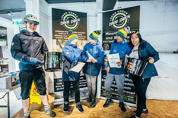 Trash Free Trails TrashMob Academy Taster Days with DMBinS - Glentress image