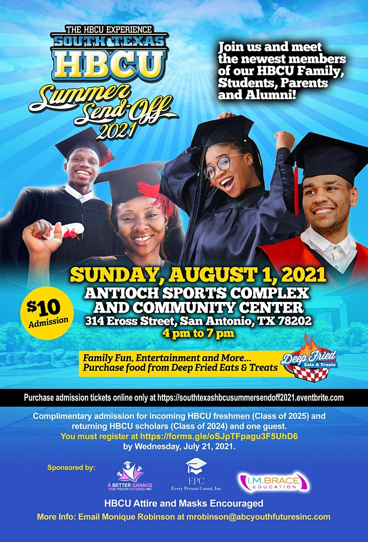 The HBCU Experience - South Texas HBCU Summer Send-Off image