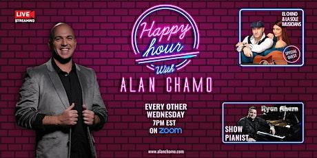 Happy Hour with Alan Chamo  | featuring Acoustic Duo El Chino & La Sole tickets