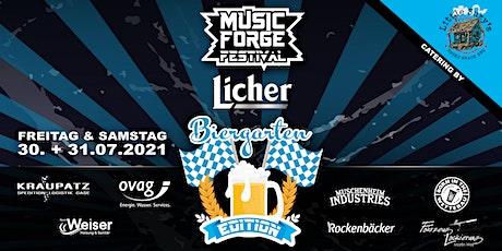 Music Forge -Licher Biergarten Edition- billets