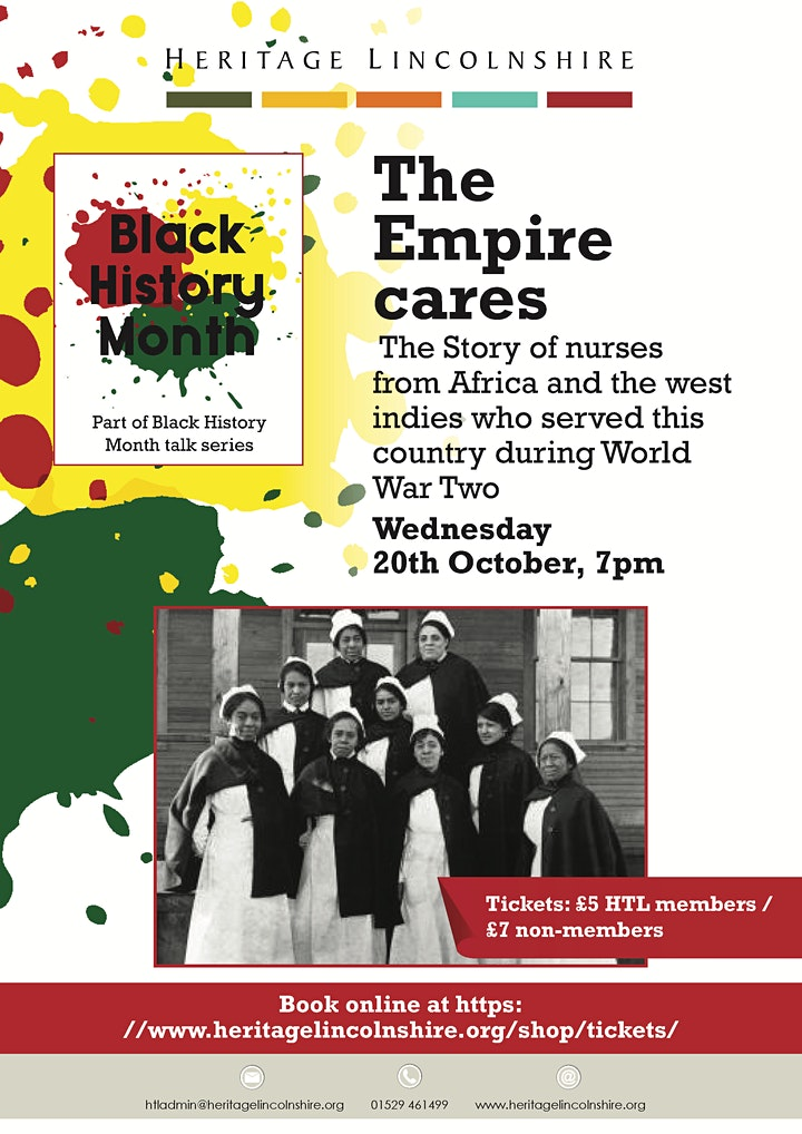 BLACK HISTORY MONTH TALKS - The Empire Cares image