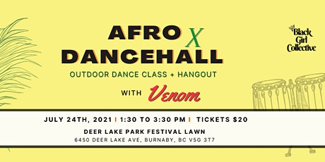 AFRO x DANCEHALL WORKSHOP tickets