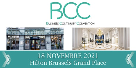 Business Continuity Convention 2021 billets