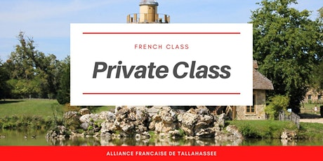 Private french classes tickets