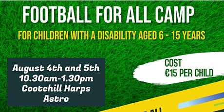 Football For All Camp tickets