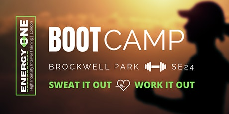 BOOT CAMP AT BROCKWELL PARK 2021 - Thursday tickets