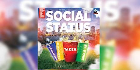 SOCIAL STATUS tickets