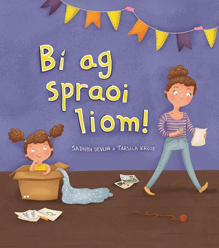 """Bí ag Spraoi Liom!"""" - with Sadhbh Devlin (suitable for 5 to 8 year-olds) image"""