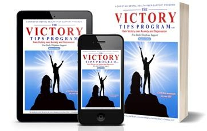 Victory Over Anxiety/Depression 4x Daily image