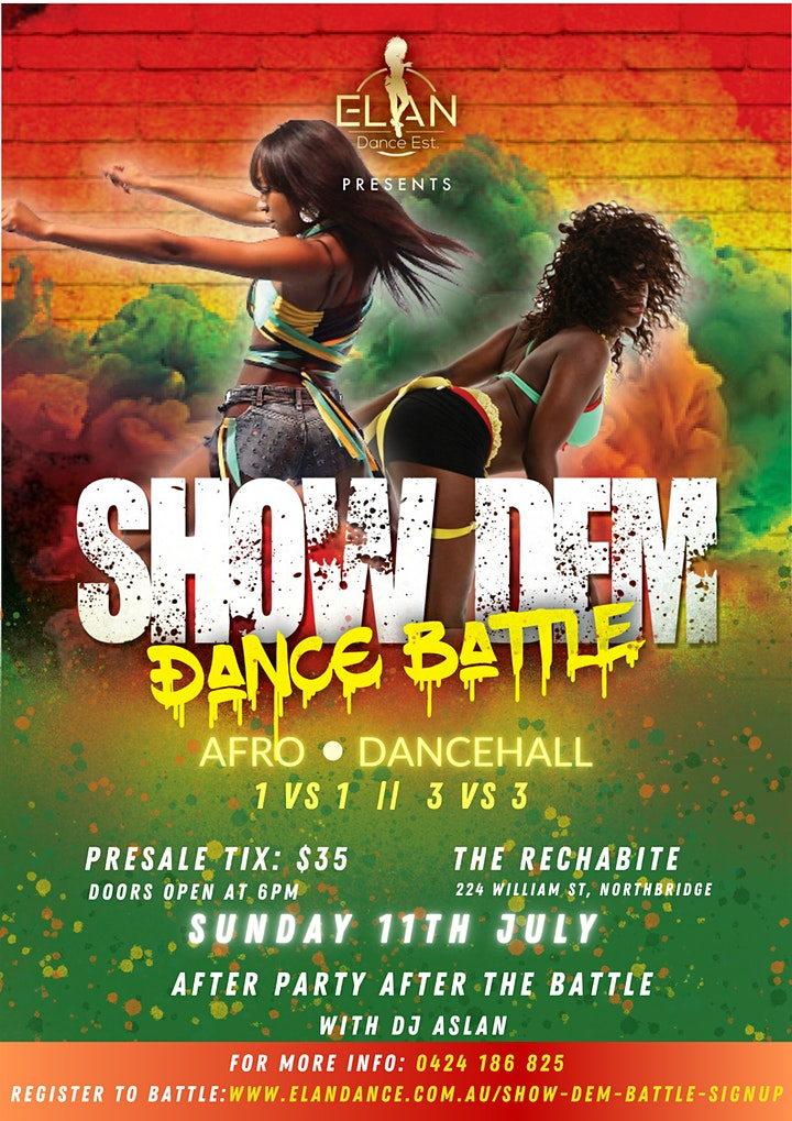 Show Dem Perth Afro & Dancehall Dance Competition image