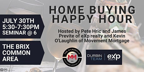 Home Buying Happy Hour at The Brix tickets