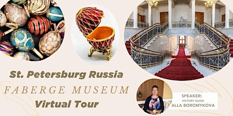 Unveil Russian Imperial Easter Eggs - Faberge Museum Virtual Tour tickets