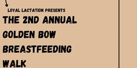Golden Bow Breastfeeding Walk tickets