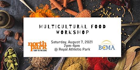 Multicultural Food Workshop tickets