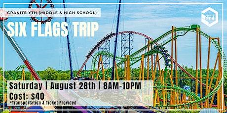 YTH Six Flags Trip tickets