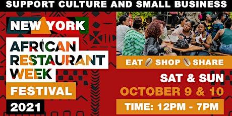 New York African Restaurant Week  Festival 2021 tickets