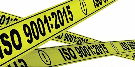 ISO 9001:2015 Internal Auditor Training tickets