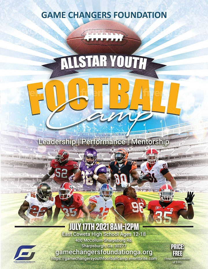 Game Changers Foundation All-Star Youth Football Camp image