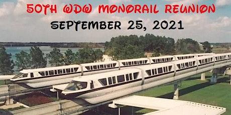 50th Anniversary WDW Monorail Reunion tickets