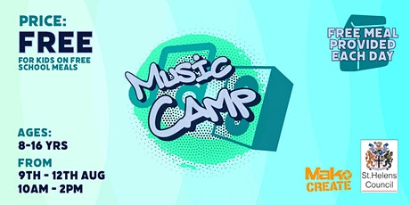 Music Camp | Creative & Fun Summer Holiday Club | St Helens (Ages 8-16) tickets