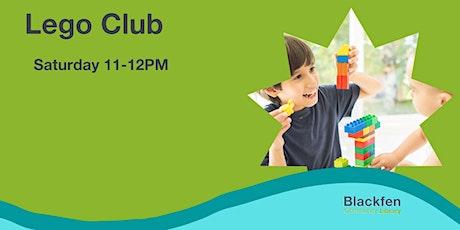 Saturday Lego Club for Kids tickets