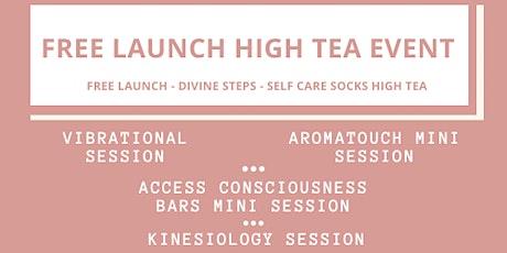 FREE LAUNCH - Divine Steps - Self Care Socks High Tea tickets