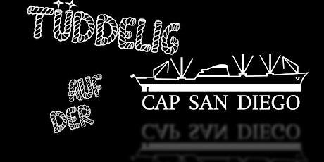 """""""Tüddelig auf der Cap San Diego"""" am Freitag - 120 Minuten Comedy-Mix-Show Tickets"""